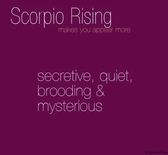 Scorpio Rising Scorpio Ascendant Scorpio Moon Neptune In Scorpio