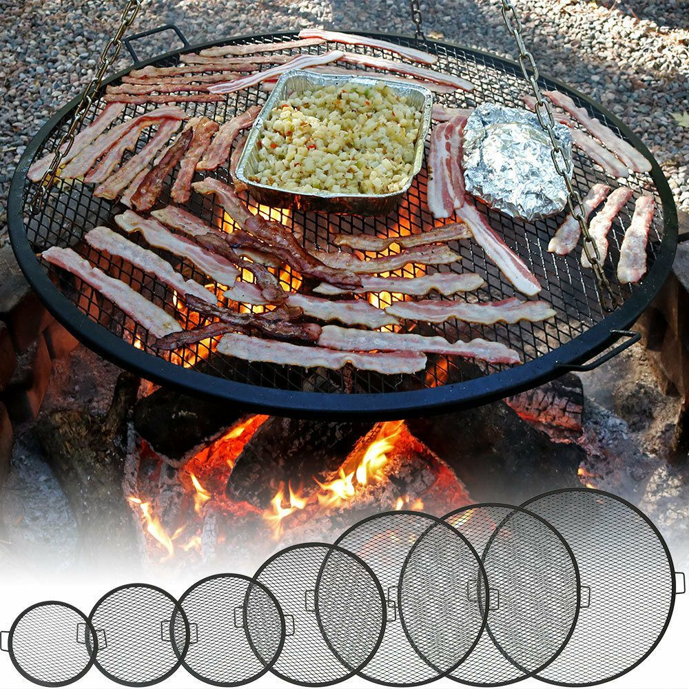 Details About Outdoor Fire Pit Cooking Grill Grate With Images