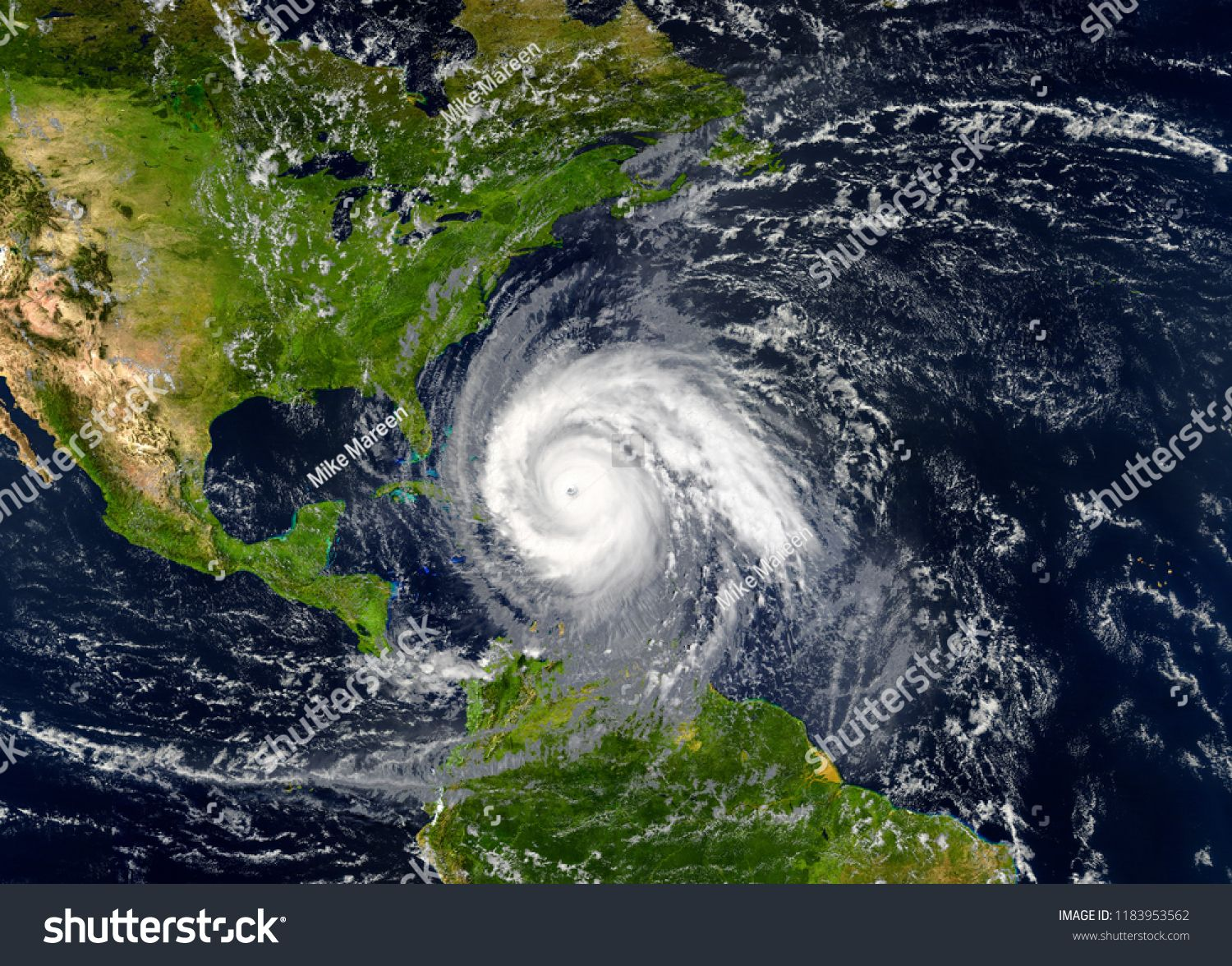 Tropical Hurricane Approaching The Usa Elements Of This Image Are Furnished By Nasa Approaching Usa Tropical Hu Global Warming Hurricane What Causes Hurricanes
