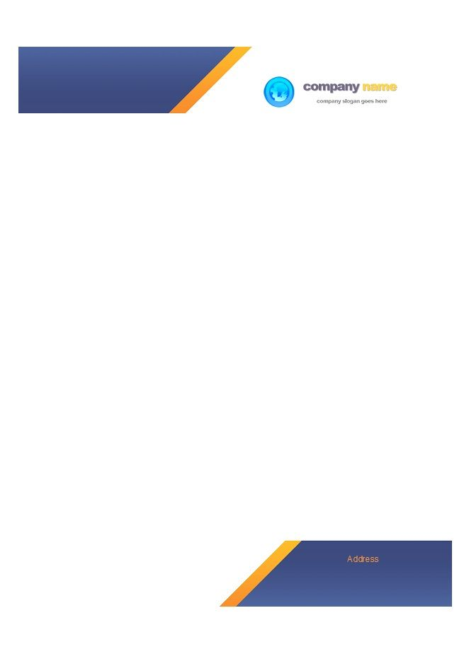 Letterhead-Template-22 Furtex Limited Pinterest Letterhead - free business stationery templates for word