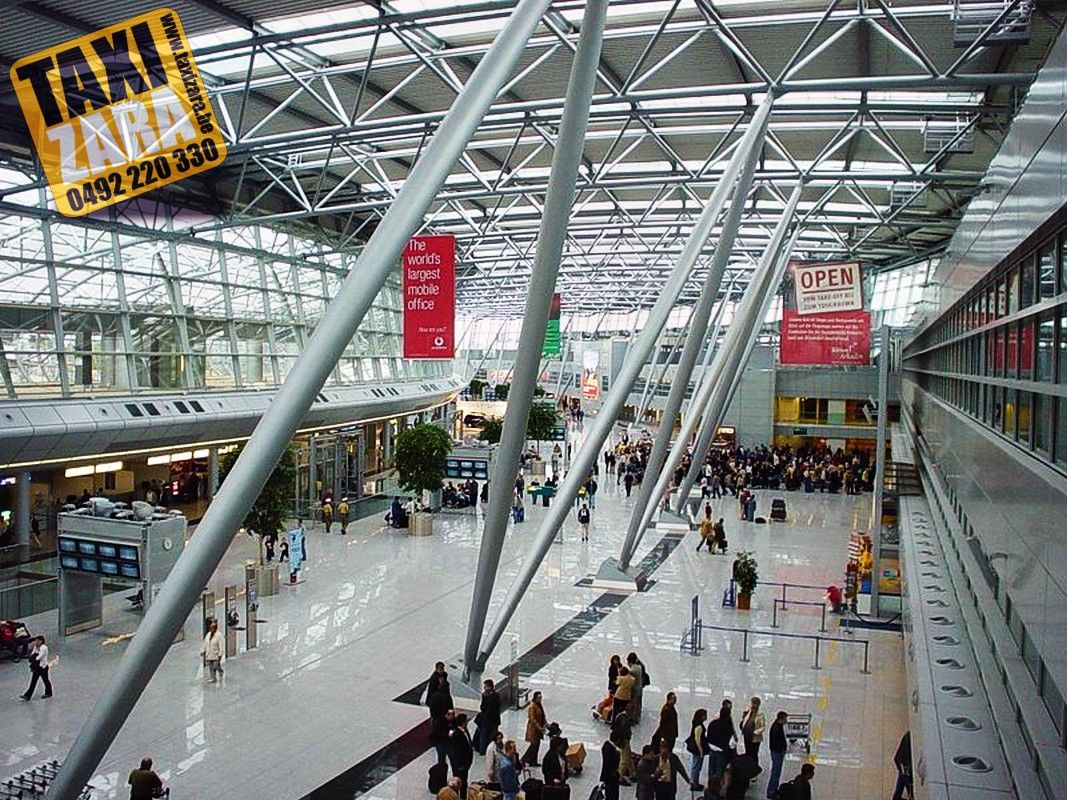 Taxi Aéroport de Dusseldorf Tel +32 492 220 330