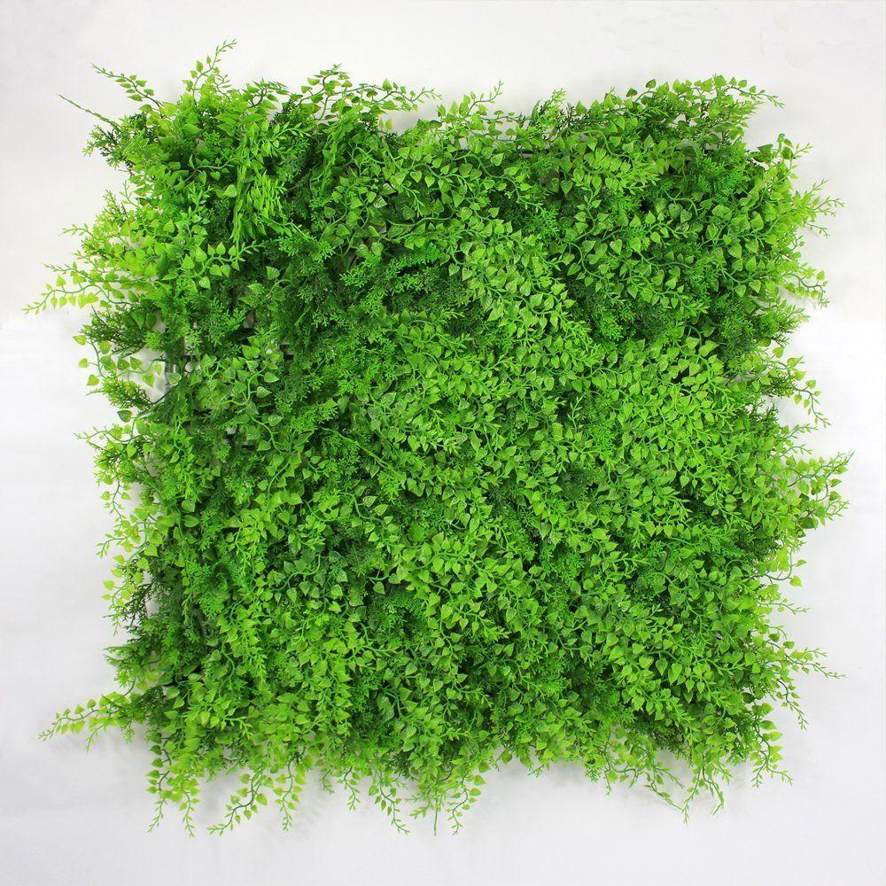 Porpora Artificial Greenery Bush For Garden Wall UV Stable