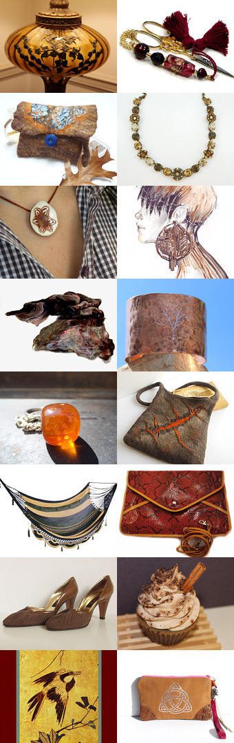 Brown Shades by Min� Kerget on Etsy--Pinned with TreasuryPin.com