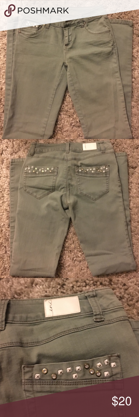 Jeans Inc jeans/ regular fit/skinny leg/ perfect condition! INC International Concepts Jeans Skinny