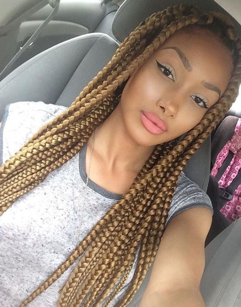 hair styles with box braids 201 pingl 233 par bee miel sur find your hairstyle 5597