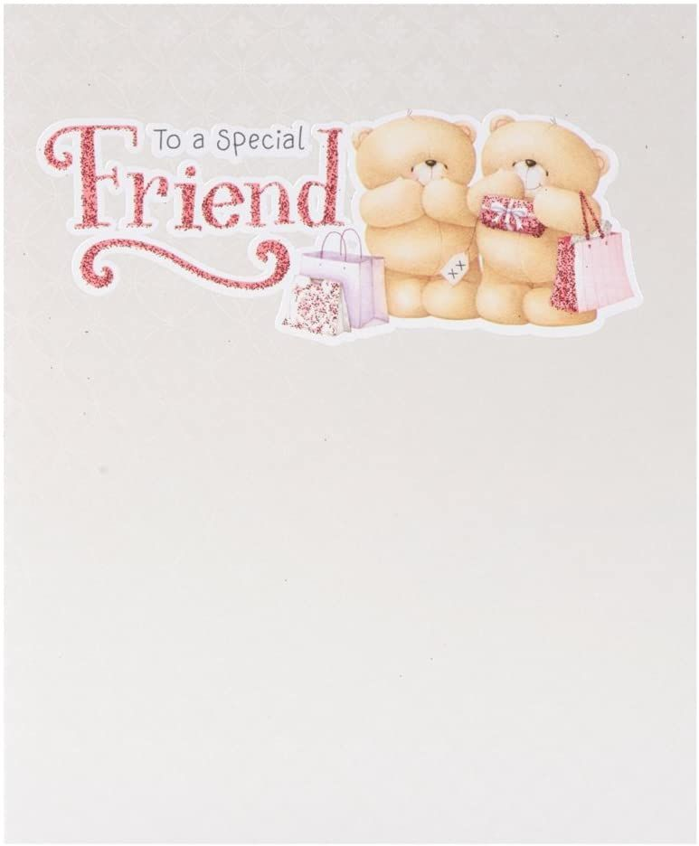 Hallmark Forever Friends Birthday Card Special Friend Medium Amazon Co Uk Office Products Friend Birthday Birthday Cards For Friends Friends Forever