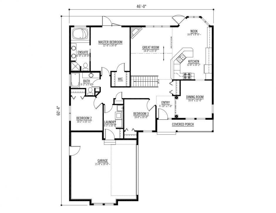 The Galiano Prefabricated Home Plans Winton Homes Prefabricated Houses House Floor Plans House Blueprints