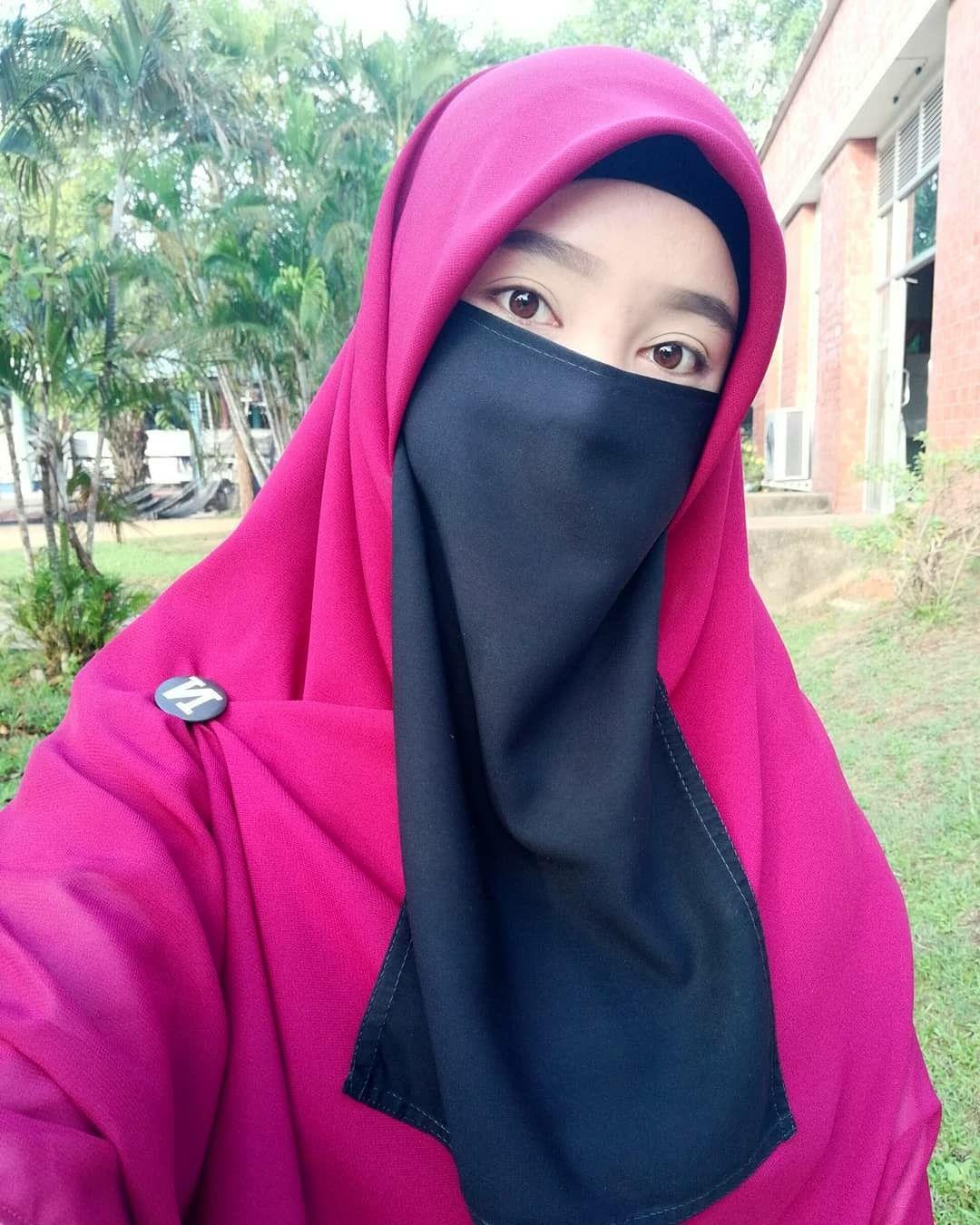 Pin oleh ari macellas di Niqab Wanita, Model pakaian
