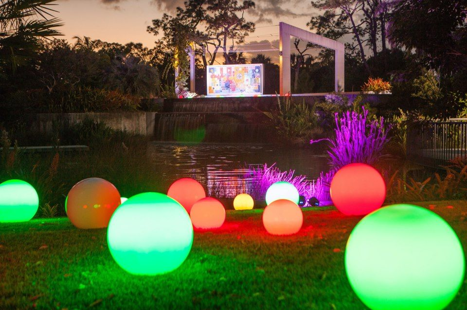 Naples Botanical Gardens Night Lights A Holiday
