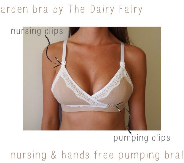 ab69ac4860 The perfect nursing and hands free pumping bra