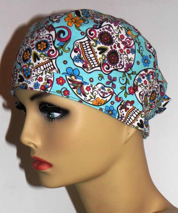 5e2eceea1844a Unisex Mens Surgical Scrub Hat Cap with Ties by MyEclecticSoul ...