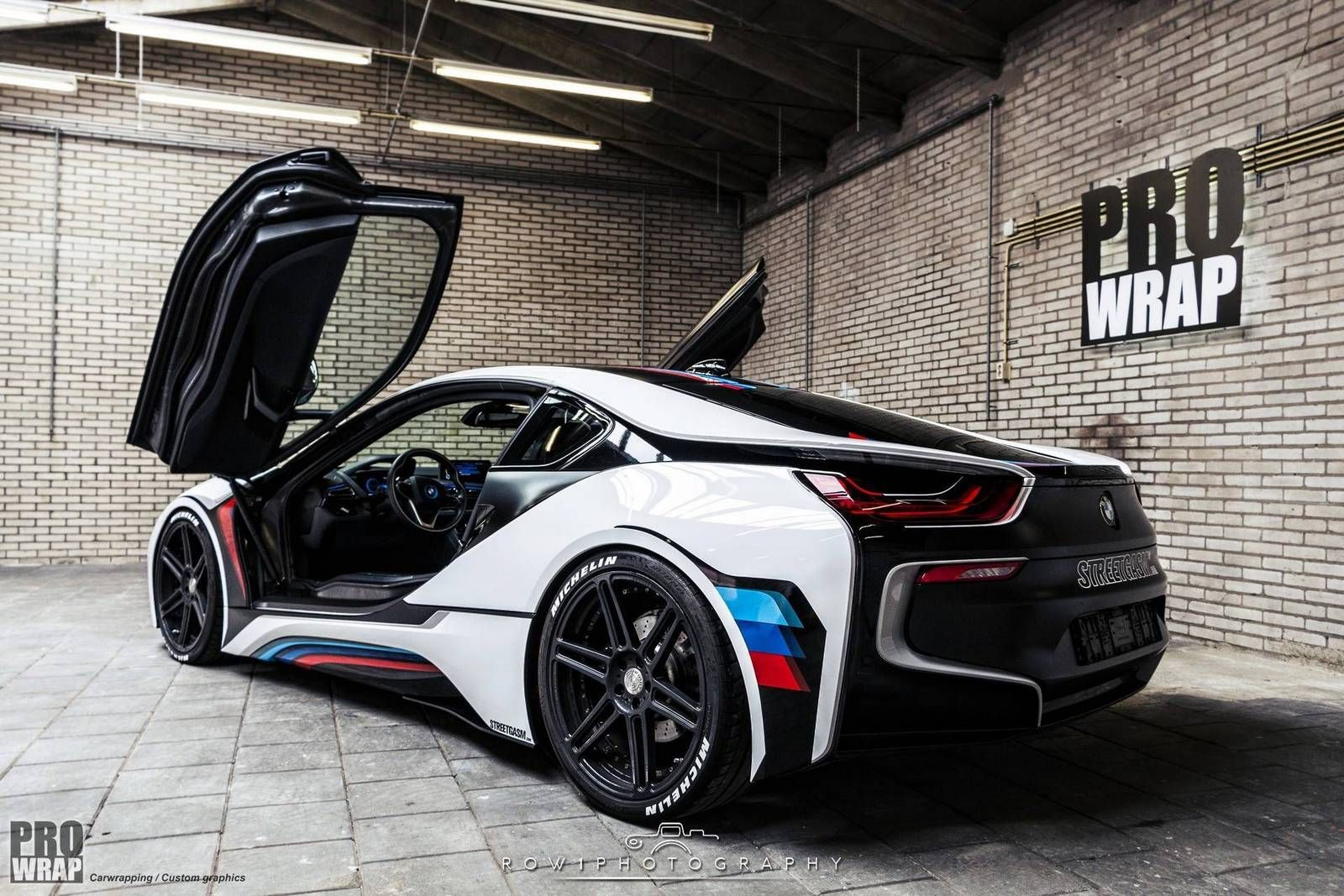 Custom Wrapped Bmw I8 By Prowrap In The Netherlands Gtspirit Bmw
