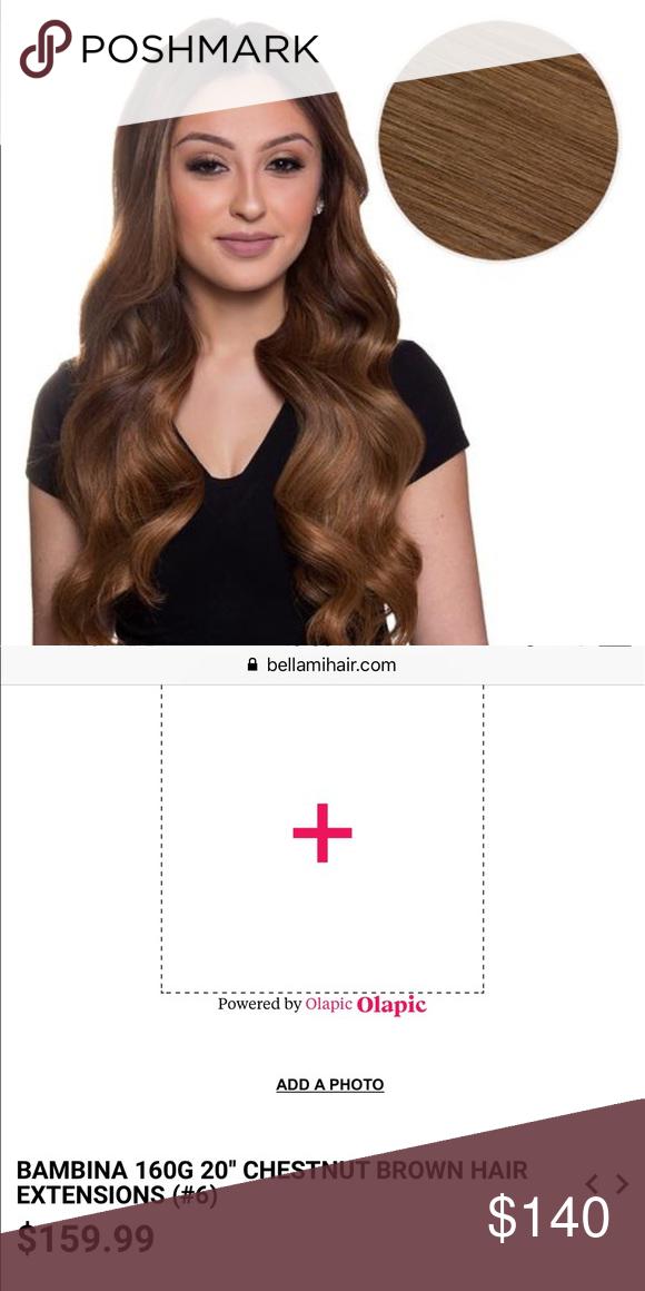 160 grams Bambina Bellami hair extensions 160 grams Bambina 3f693e9a91