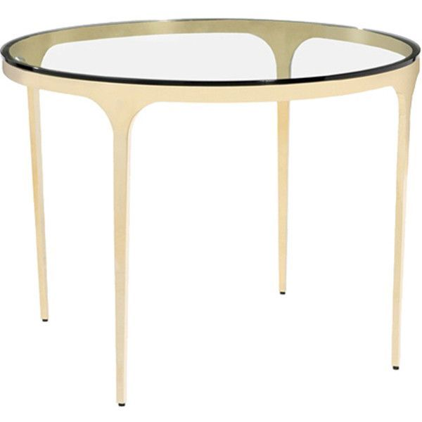 Interlude Home Camilla Dining Table Glass Glass Dining Table