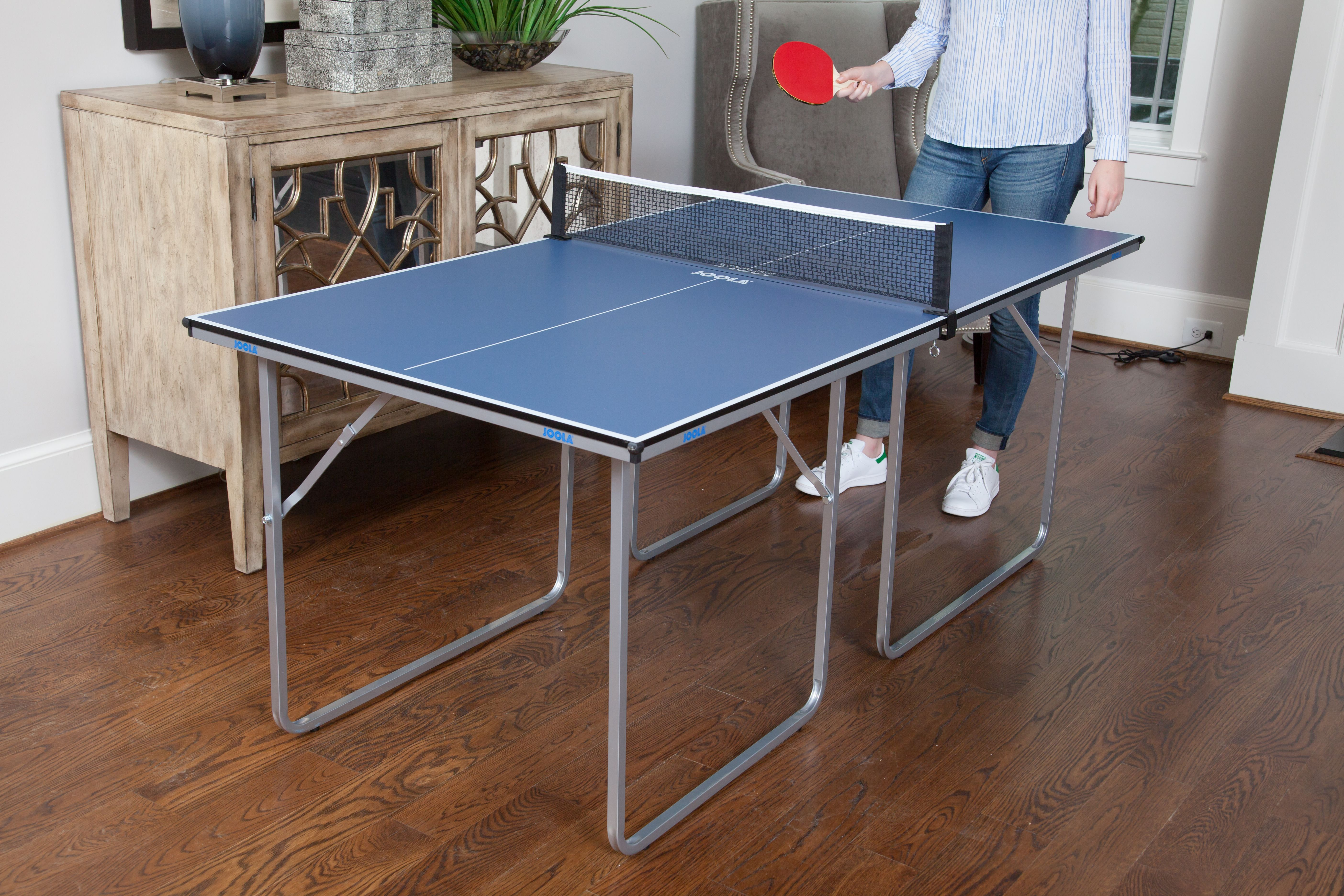 Joola Midsize Table Tennis Table Joola In 2020 Table Board Game Table Small Spaces