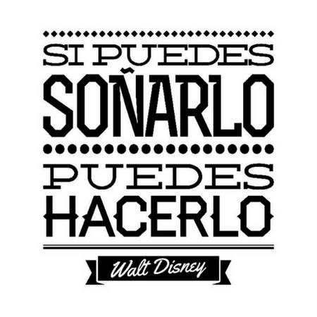 Walt Disney Vinilos Cuadros Con Frases Diseño De Discoteca