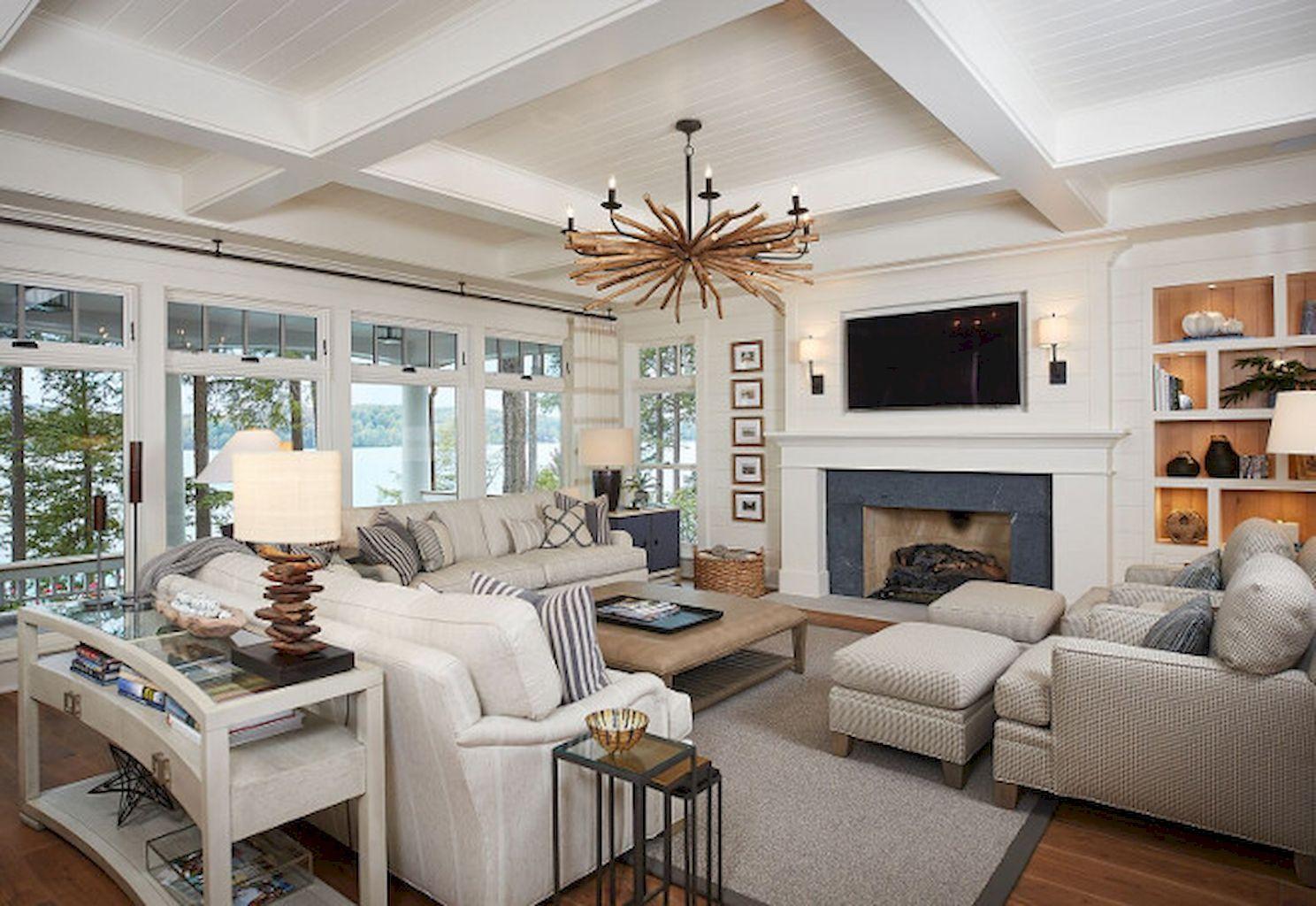 99 Cozy And Stylish Coastal Living Room Decor Ideas  Coastal Glamorous Coastal Living Room Designs Inspiration Design