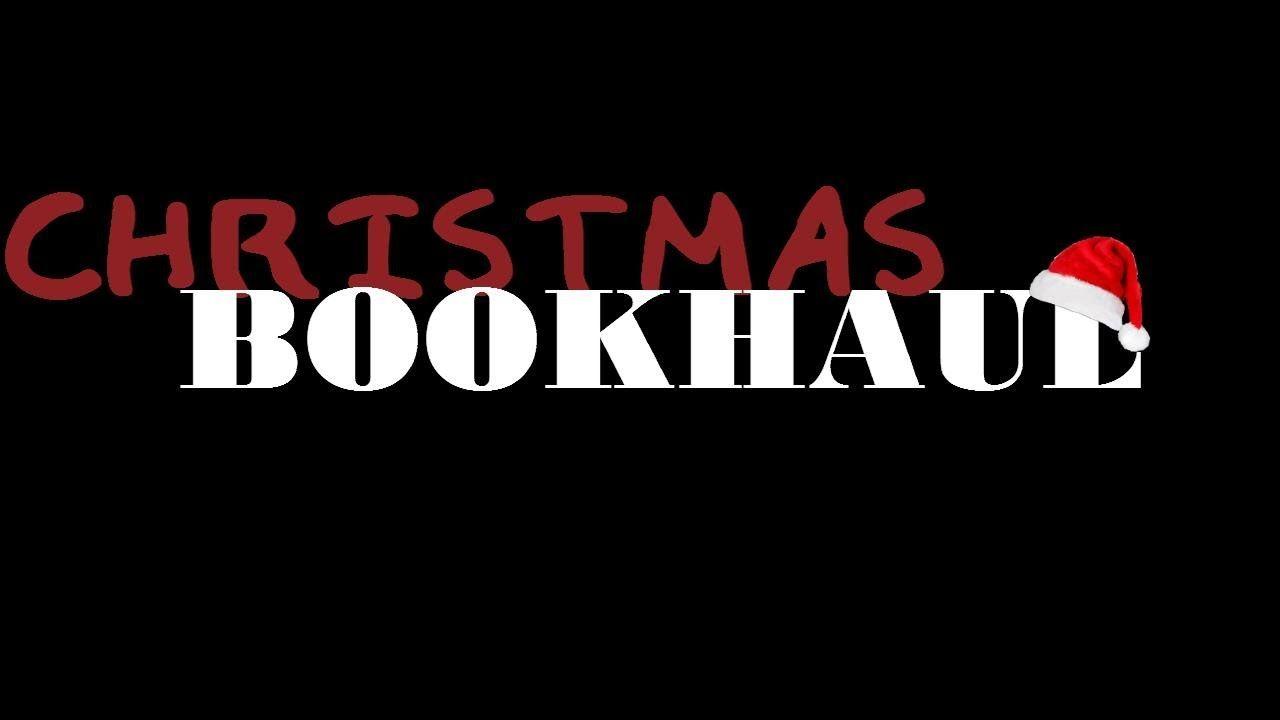 My lil Christmas Book Haul