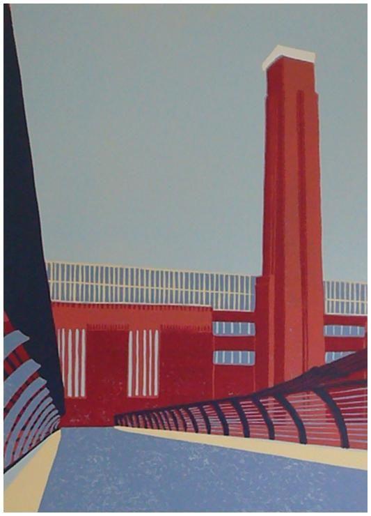 For Arts Sake Bridges In Art Tate Modern Across The Millenium Bridge By Jennie Ing