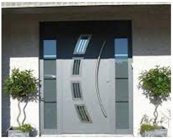 Fotos de puertas de aluminio para entrada puertas for Puertas principales exteriores