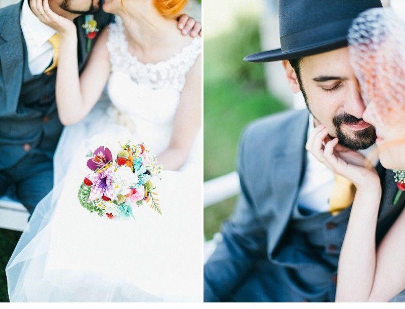 Anne und Tobi, hinreißende DIY Hochzeit von Julia und Gil Fotografie - Hochzeitsguide