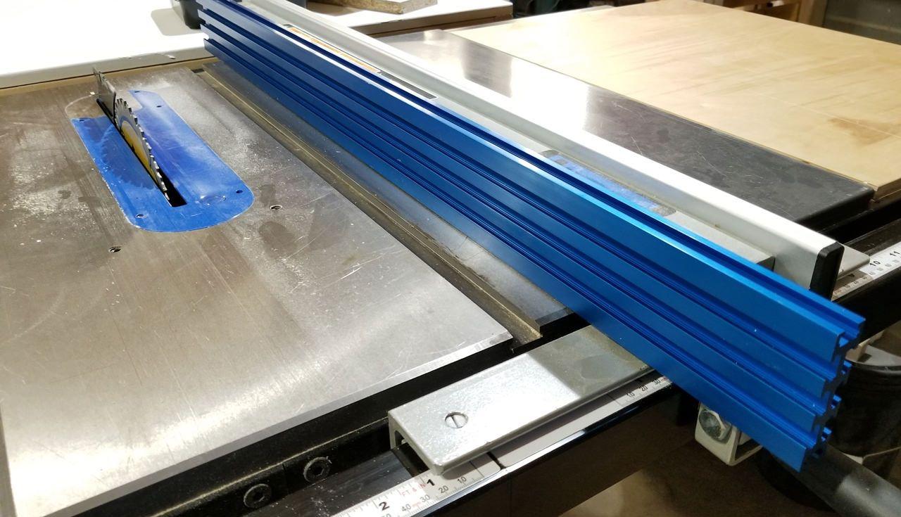Upgrade Delta 36 725 Table Saw Fence Album On Imgur Delta Table Saw Woodworking Projects Table Saw Fence