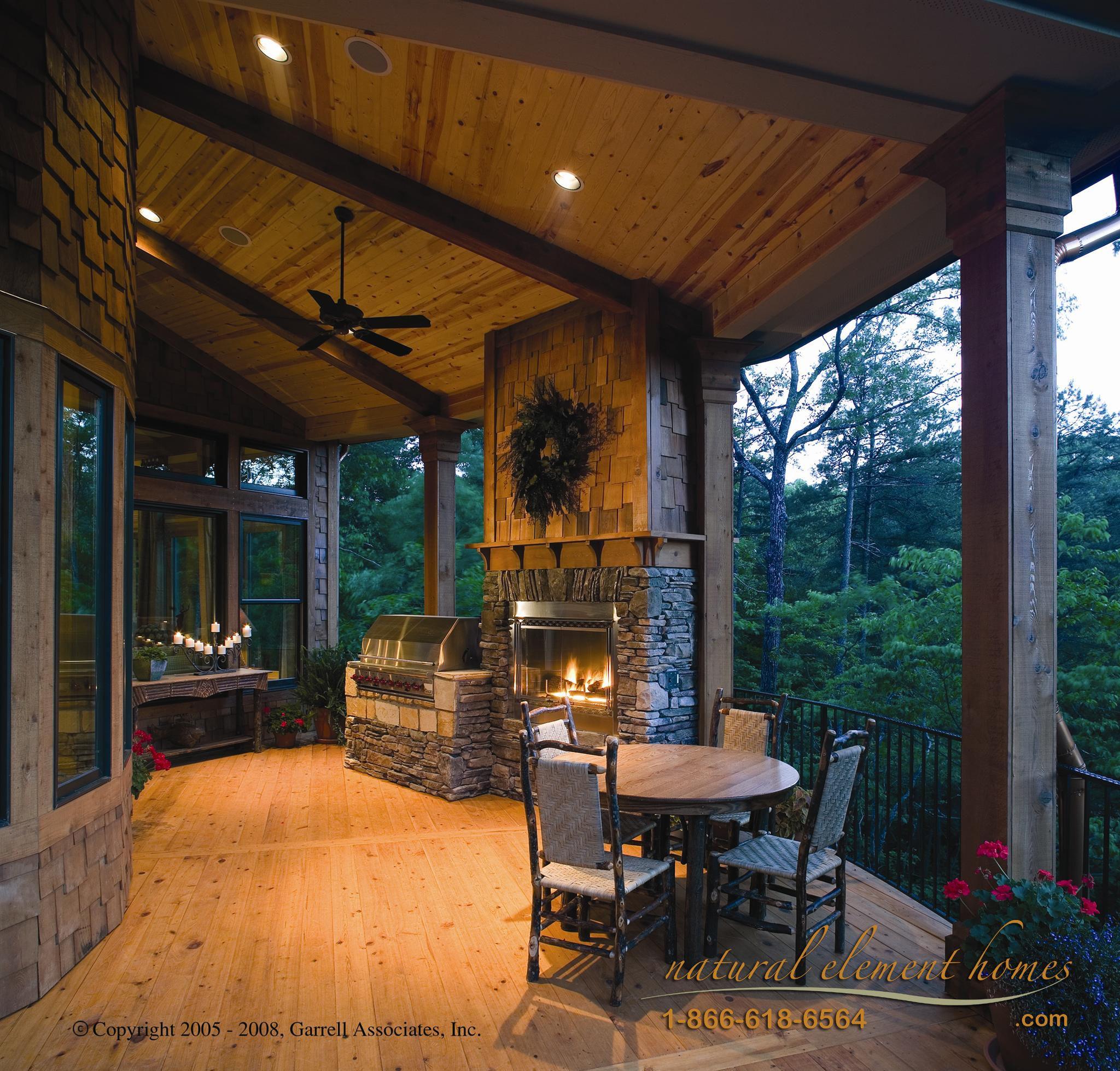 outdoor fireplace Outdoor Living Pinterest