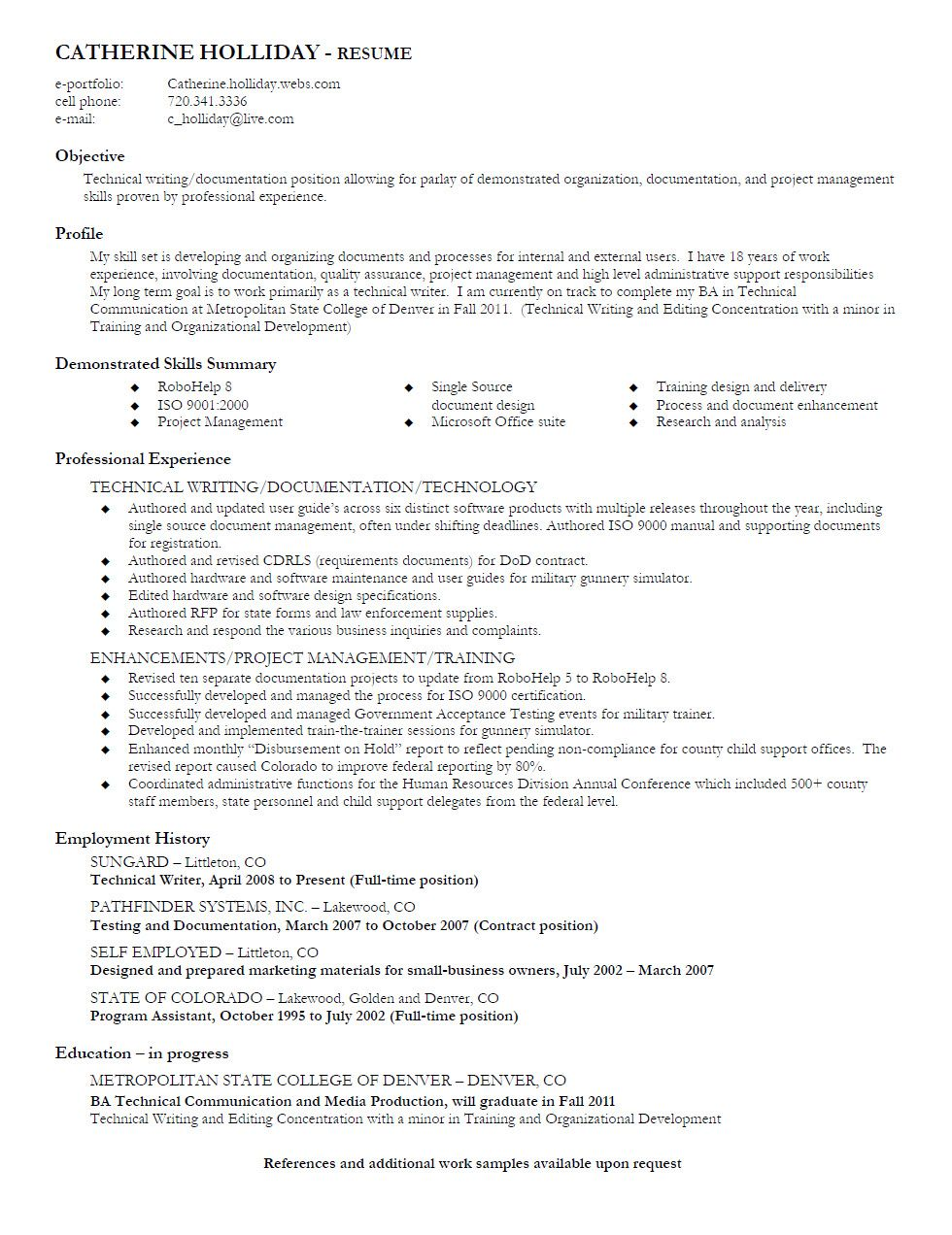Technical Writer Resume Skills Ftjmlug Combination Sample Research
