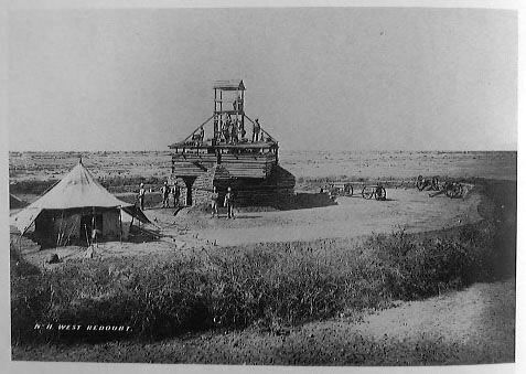 British redoubts were built across the country to try and negate the mobility of the Mahdist forces. Mainly garrisoned by Egyptian troops, many were wiped out by Superior forces before the British could help.