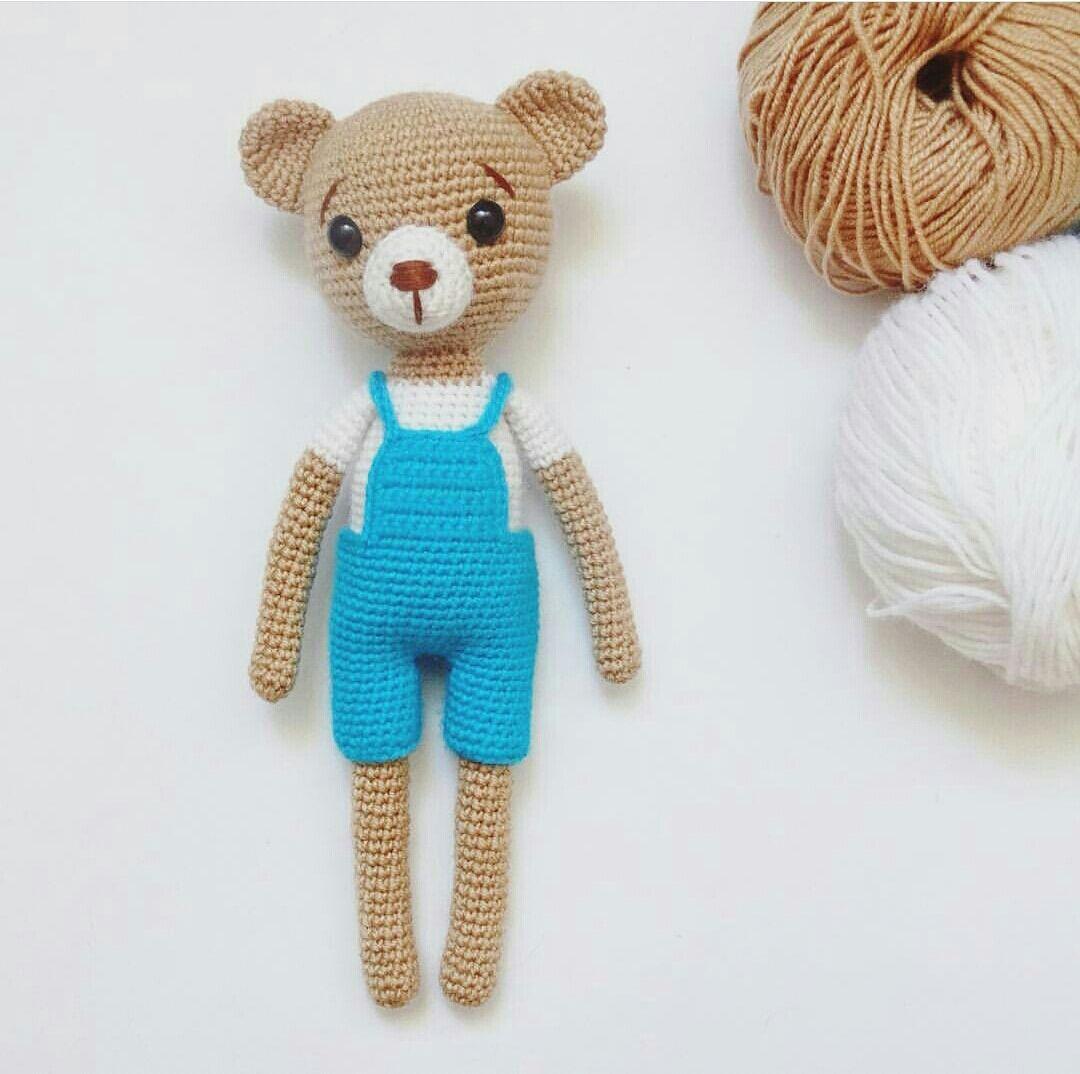 Amigurumi örgü oyuncak masum ayı yapılışı anlatımlı | Baby ...