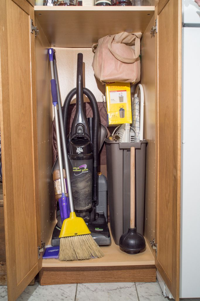 Illustration of Broom Closet Cabinet: Smart and Practical Solution ...