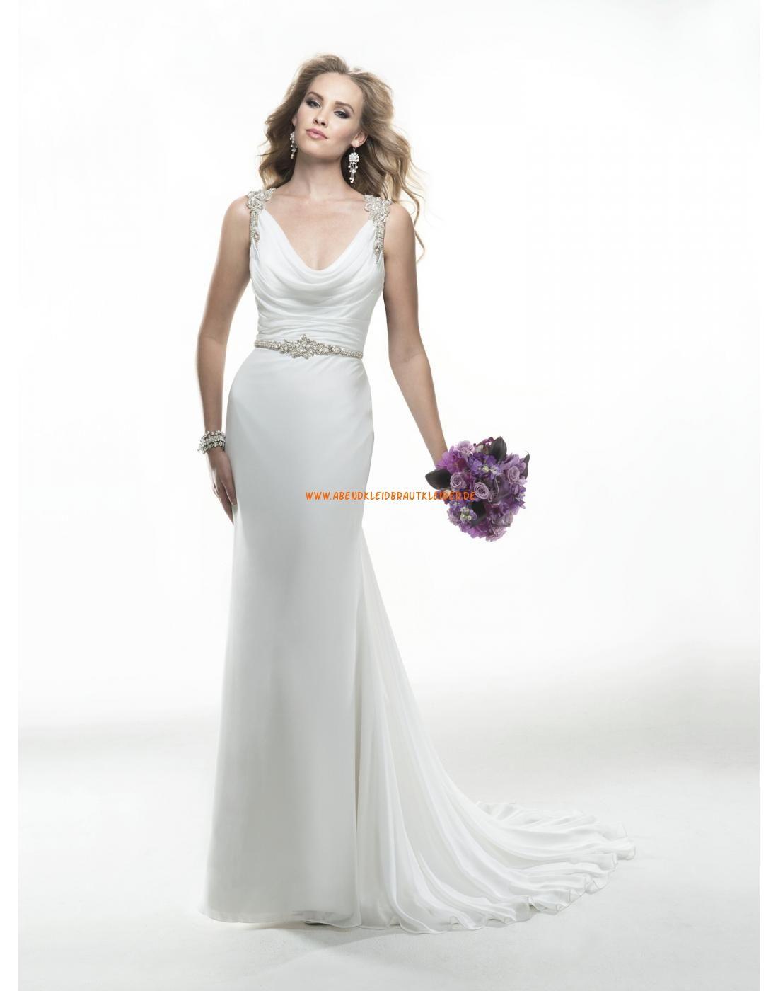 Maggie Sottero Rückenfreie Schlichte Elegante Brautkleider aus ...