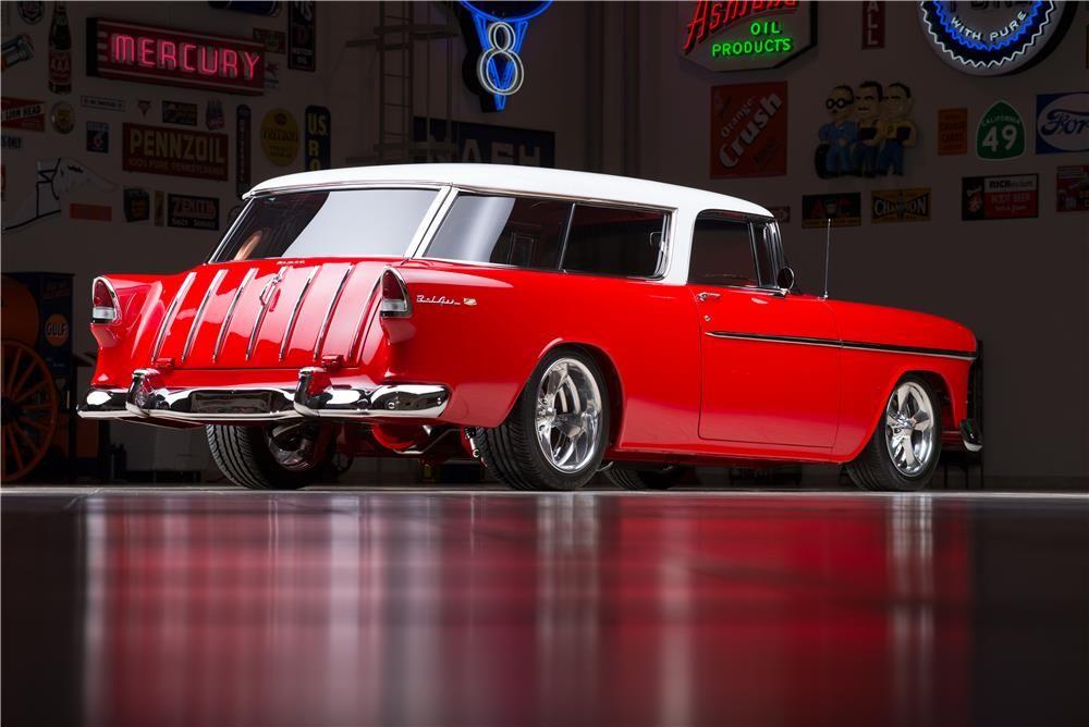 1955 Chevrolet Nomad Custom Wagon Barrett Jackson Auction