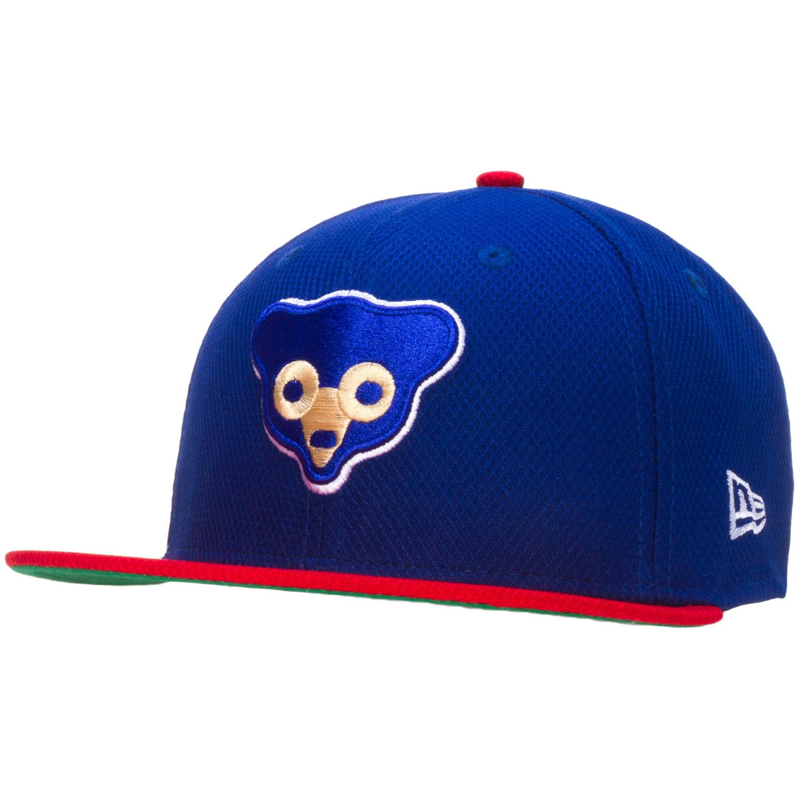 finest selection df523 8fb90 Chicago Cubs Royal Blue Extra Large Crawl Bear Logo Fitted Flat Bill Hat by  New Era  Chicago  ChicagoCubs  Cubs   Cubs Hats   Chicago cubs fans, ...