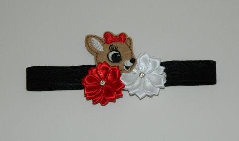 Rudolph's Friend Clarice has come to play with your Little Lady this holiday season! A great hair bow to accessorize her special holiday outfit!! See more 3LL Bows at threelittleladiesbowtique.com