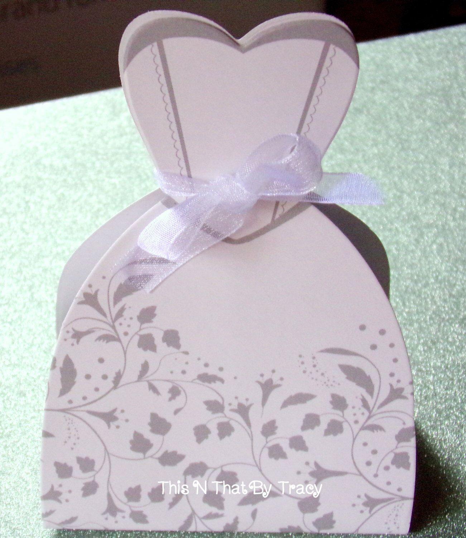 Bridal Dress Favor Box,Wedding Dress Favor Box,Bridal Shower Favor ...