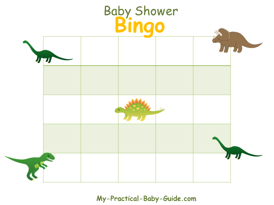Dinosaur Baby Shower - My Practical Baby Shower Guide | Baby shower ...