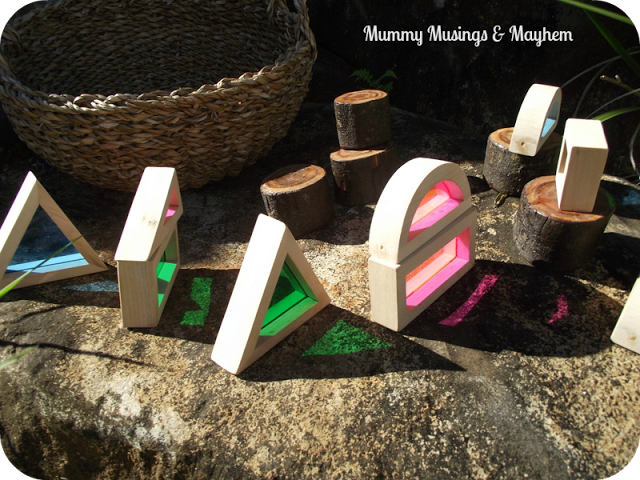 Exploring Colour and Texture with Window Blocks1 - Mummy Musings and Mayhem