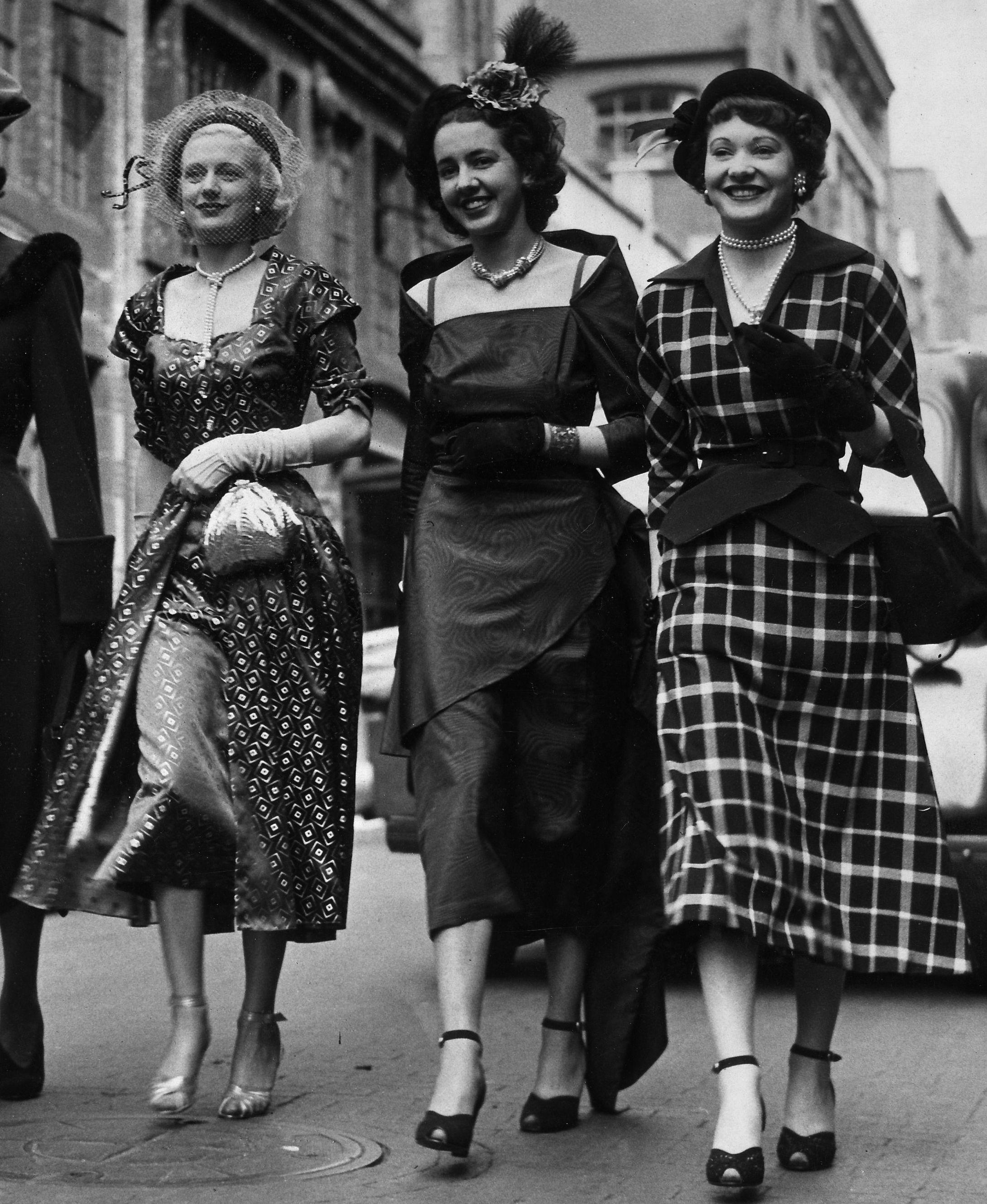 1940s Fashion, Vintage Outfits, Fashion History