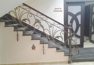 F ارت فورجلي بوابات جرار ومجموعة من هندريل السلالم Stairs Decor Home Decor