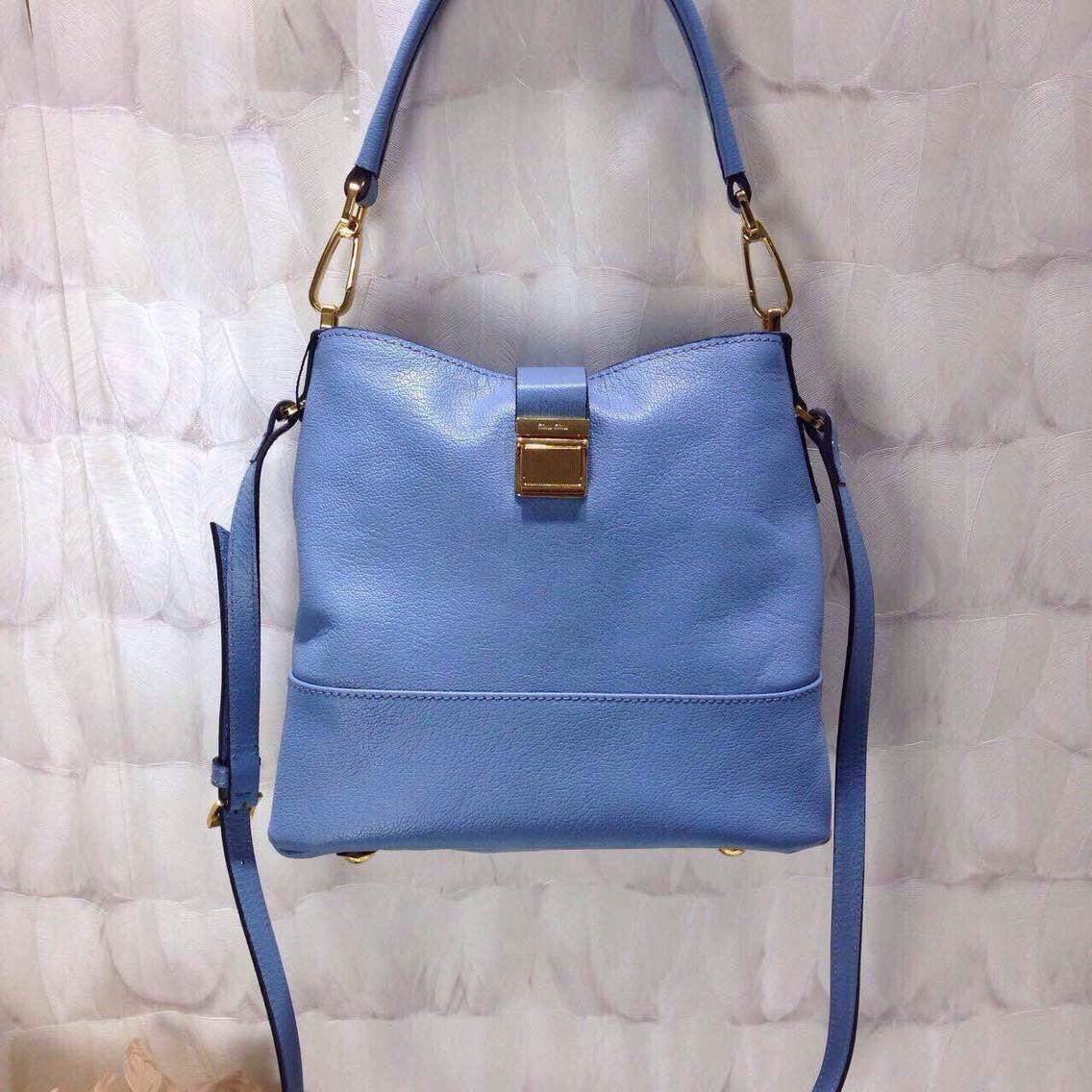 Miu Miu Leather Hobo Bag Sky Blue 2015 Designer Purses, Hobo Bag, Cross Body 8f4399e091