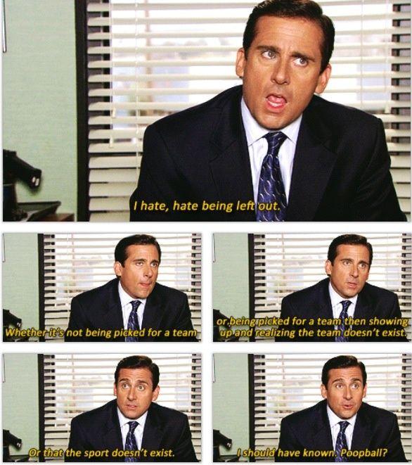 Michael scott online dating citat