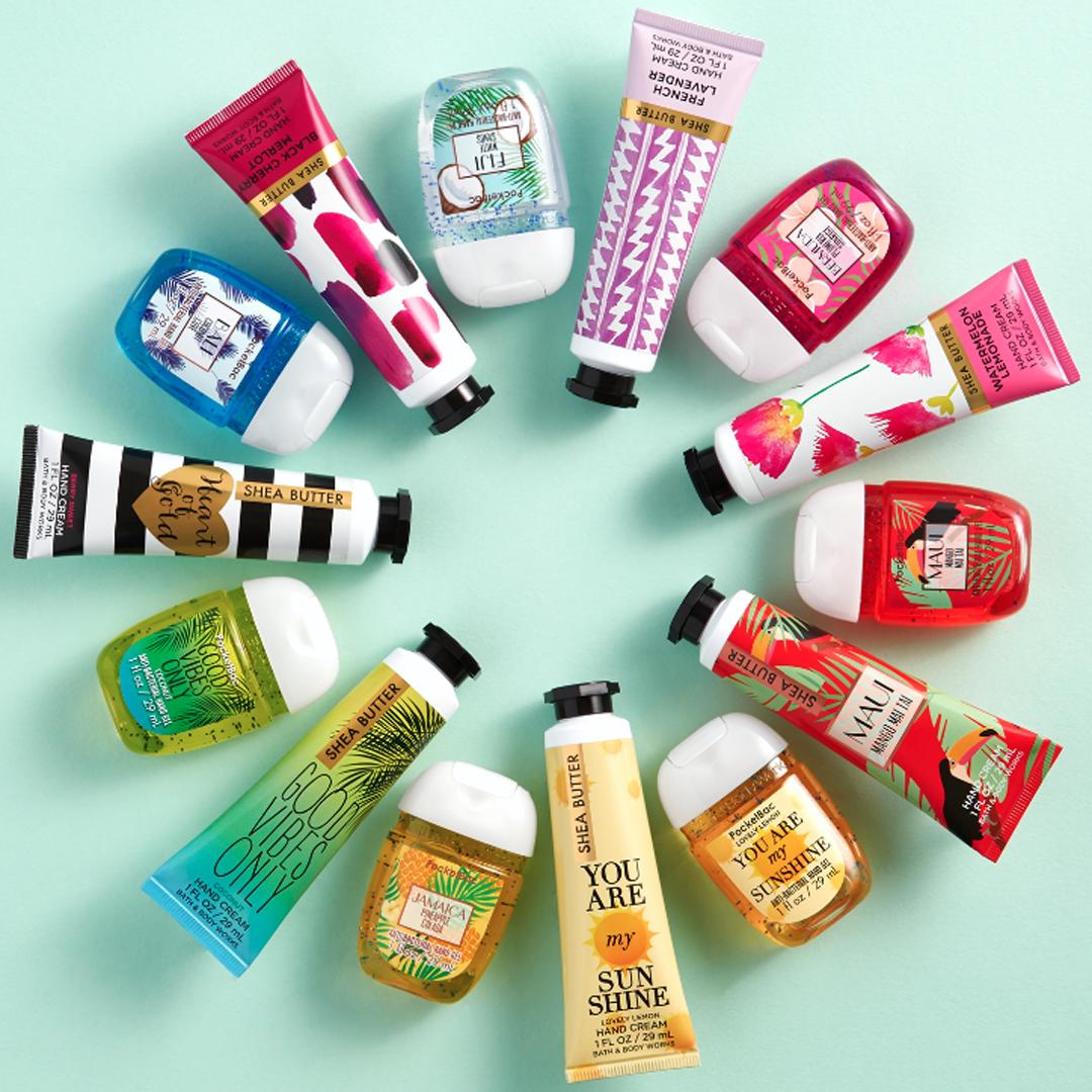 The perfect mix of PocketBacs & Hand Creams! | Bath and body works. Bath n body works. Bath and body