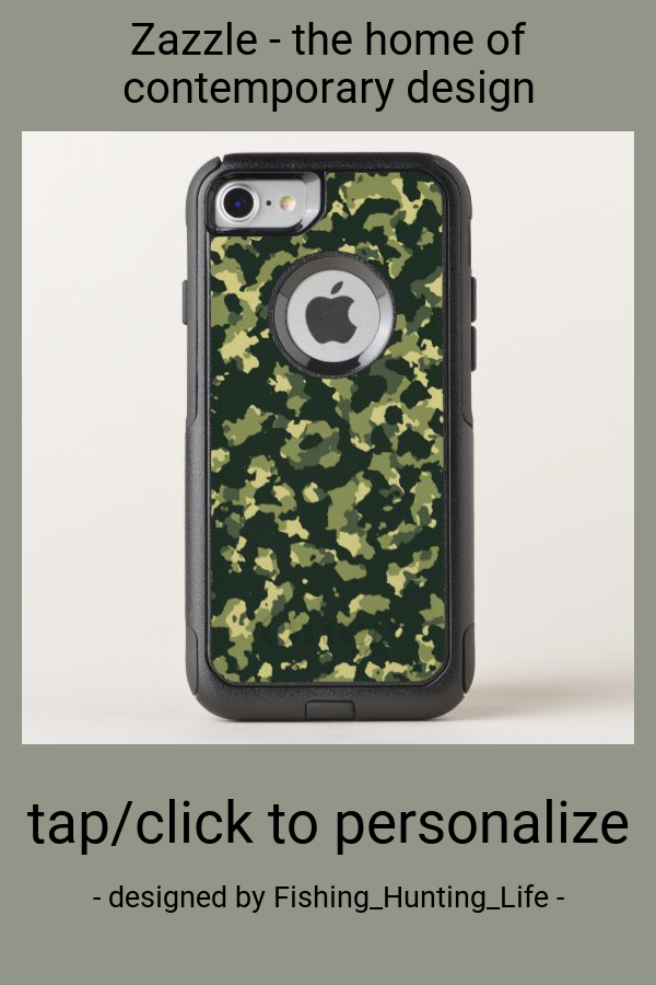 Green Camo OtterBox iPhone Case Iphone