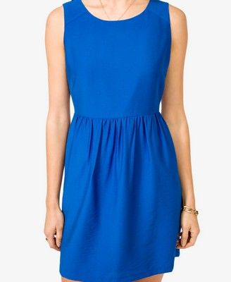 Essential Knee Length Dress | FOREVER21 - 2019263704