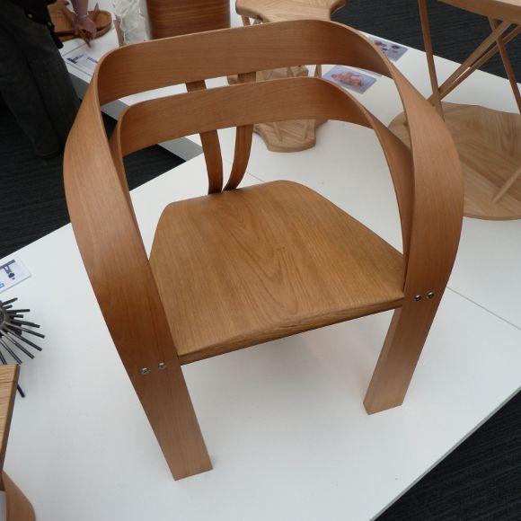 Silla de madera natural curvada   sillas y bancos   Pinterest ...