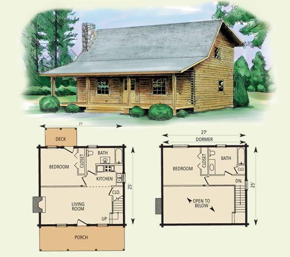 Wilderness Log Home And Log Cabin Floor Plan Log Home Floor