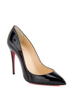634b75799c4 Christian Louboutin Pigalle Follies In Patent Leather in Black - Avenue K
