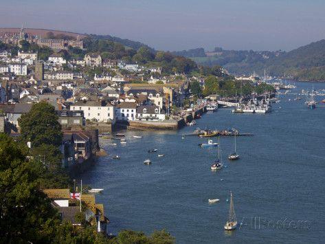 River Dart, Dartmouth, Devon, England, United Kingdom