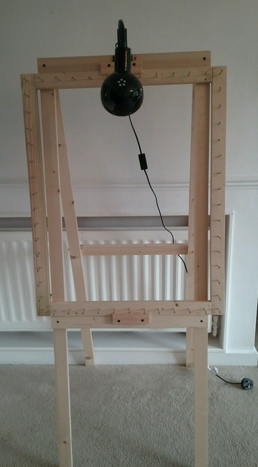 Light Weight Stand Made To Hold Our Large And Medium Pom Pom Frames